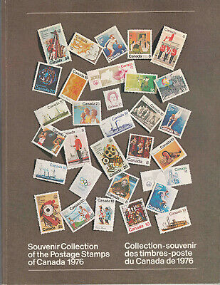"Canada ORIGINAL ENVELOPE Sc#19 Souvenir Book of 1976 ""Annual Collections"" **"
