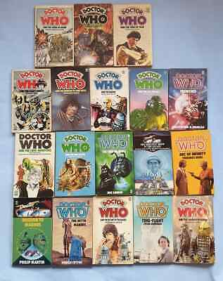 DOCTOR WHO Target novels x18 ***BUNDLE*** LOT most 1st editions