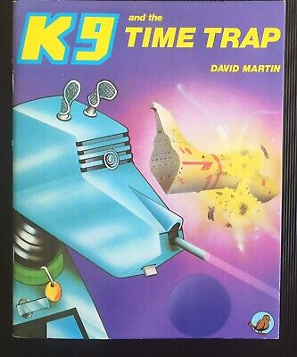 The Adventures Of K9 No.1 The Time Trap book near mint (Doctor Who-related)
