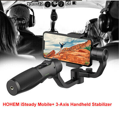Hohem iSteady Mobile+ 3-Axis Gimbal Stabilizer Auto Tracking fr iPhone 8 7 7Plus