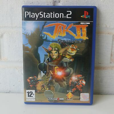 Jak Ii Renegade (& And Daxter) - Sony Playstation 2 Ps2 Pstwo Game - New