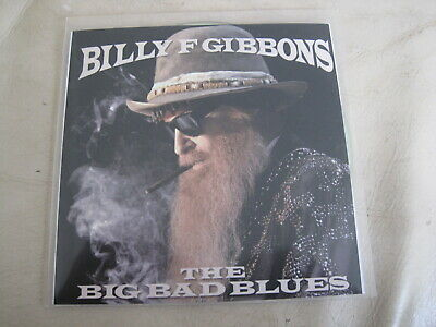 Billy F GIBBONS - The Big Bad Blues (promo CD, ZZ Top)