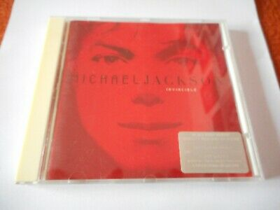 "Michael Jackson CD ""Invincible"" RED / ROT"
