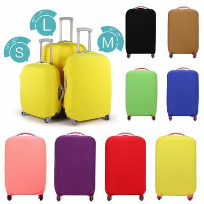 Case Anti-scratch Candy Color Dust-proof Baggage Protector Suitcase Cover