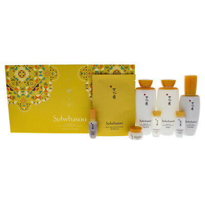 First Care Essential Set by Sulwhasoo - 8 Pc 90ml and 8ml First Care Serum
