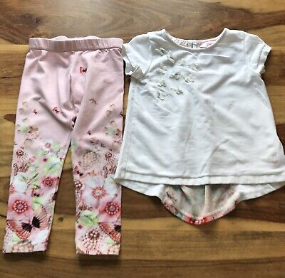 Ted Baker Top And Leggings Set Age 3-4