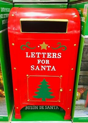 Post Box Letters for Santa North Pole Mailbox Christmas Decoration