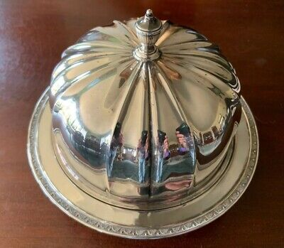 Superb ~ Quality~Antique ~ Silver Plated ~ Muffin Warming Dish ~ Mappin & Webb