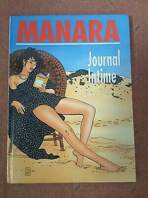 Manara Journal Intime Adult Graphic Novel Book