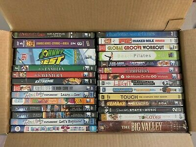 New DVD lot Free Shipping Secrets of War Johnny Test Big Valley Germany Touch Am