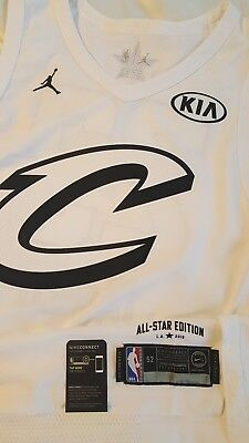 Lebron James 2017-18 NBA All Star Cleveland Cavaliers Nike Authentic Jersey Sz52