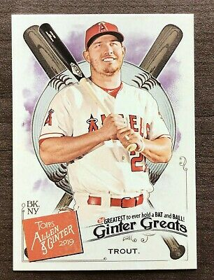 2019 Topps Allen & Ginter Ginter Greats Insert ~ Pick your Card