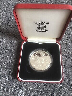 1997 The Royal Mint Golden Wedding Silver Proof five pounds £5 coin in Case COA