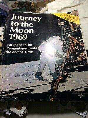 First Manned Landing On The Moon 50th Anniversary Souvenir From Tandy Corp, 1969