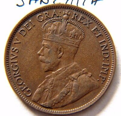 1918 Canada, Canadian Large Cent Coin , Canadian One Cent