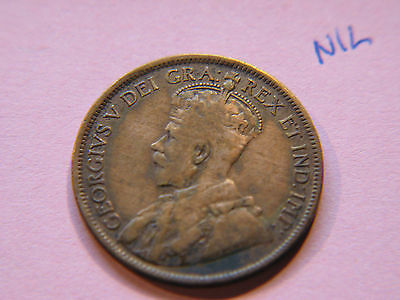 1918 Canada Large Cent Coin , Canadian One Cent
