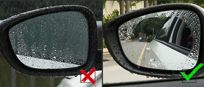 Chevrolet Car/Van Side Mirrors Water Proof & Anti-Frost/Glare Oval Films