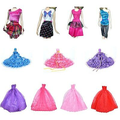 New  Doll Fashion Handmade Clothes Dress Different Style For Kids SEUP