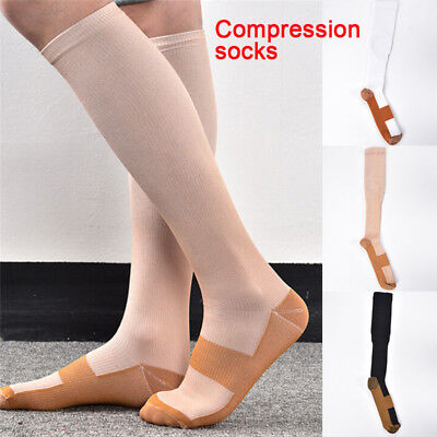 Fashion Women & Men Unisex Compression Socks High Relieves Stress Stocking UP