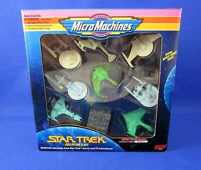 1993 Micro Machines Star Trek Collector's Box Set Galoob 65827 Limited Edition
