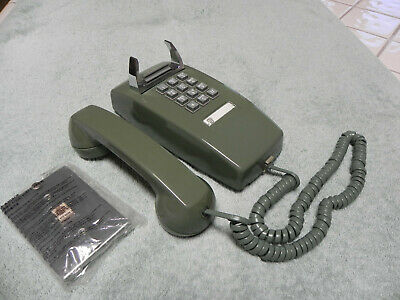 1976 Green Western Electric Bell System 2554 TT  Wall Telephone Restored-Vtg