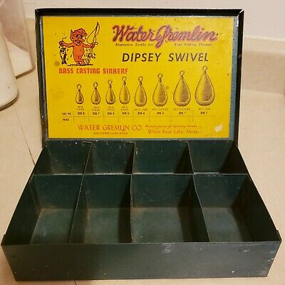 24 PIECES WATER GREMLIN SNAP-LOC DIPSEY SWIVEL SINKERS  2-1//4OZ  #PSLD-2