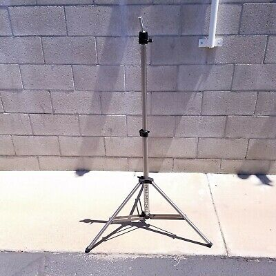 Genuine PAUL MITCHELL Hair Makeup Cosmetology Mannequin Head Tripod w/ Case