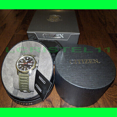 NEW - Citizen Eco-Drive Wrist Watch - Military Caliber E100 - Men's/Women's