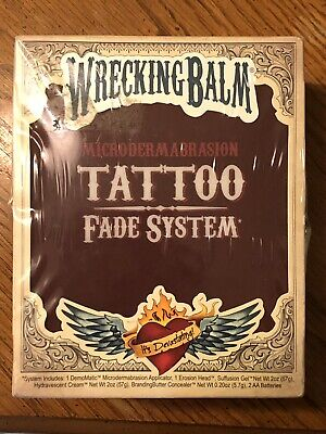 Wrecking Balm Tattoo Fade System for Removing Tattoos - NEW SEALED