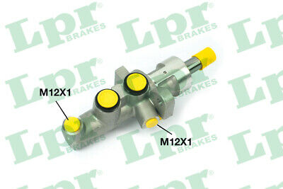 2x Brake Master Cylinders 1351 LPR 0054308301 A0054308301 P30226 Quality New