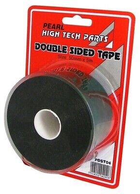 2x Double Sided Tape50mm X 5m PDST04 Pearl Genuine Quality NEW MULTIBUY SAVER