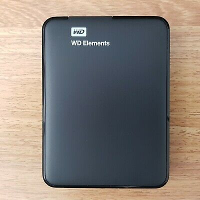 WD Elements 1TB USB 3.0 Portable Hard Drive External Western Digital