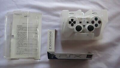 Official SONY PlayStation PSX White Analog DualShock 2 Controller DESR-10 Boxed