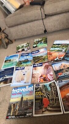 x15 Lonely Planet traveller Travel Magazines
