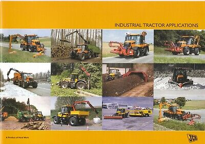 JCB Industrial Tractor Applications brochure 10/09 issue 3