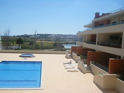 Western Algarve, Meia Praia Apartment, Holiday Home For Rent Overlooking Pool