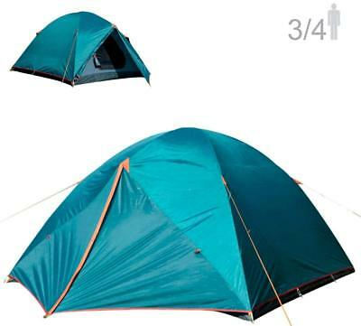 NTK Colorado GT 3 to 4 Person Outdoor Dome Family Camping Tent