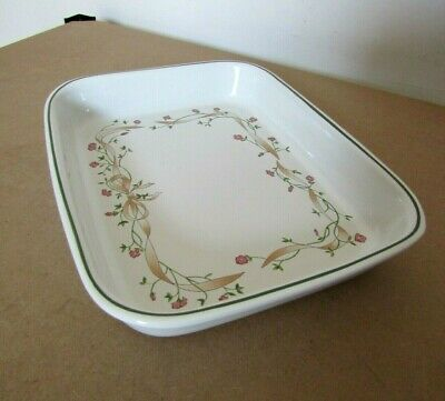 Johnson Brothers Eternal Beau Pattern - Large Oven to Table Serving Dish  12.5'