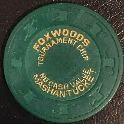 25 Foxwoods Casino poker tournament chip WPT World Poker Finals Paulson H&C NCV