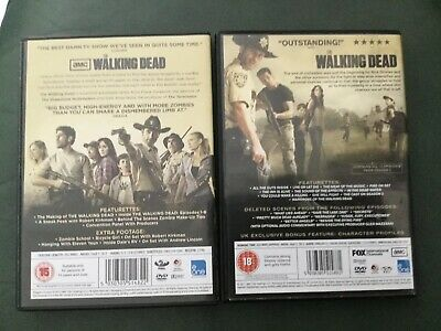 The Walking Dead.the Complete First , Second & Third Seasons.uk Region 2 Dvd