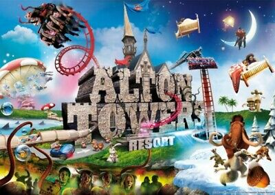 2 X Alton Towers Resort tickets 7th September 2019 Saturday