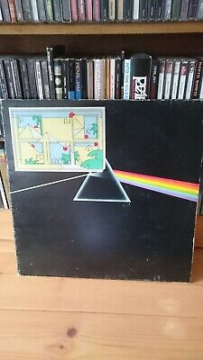 Pink Floyd - Dark Side Of The Moon - Vinyl Record LP Album - SHVL804 - 2 POSTERS