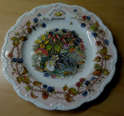 The Dairy 20.3cm Plate Royal Doulton Brambly Hedge Ausgezeichneter