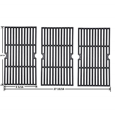 Grill Grid Grate Replacement Charbroil Cast Iron Retain Heat Superbly Heavy Duty
