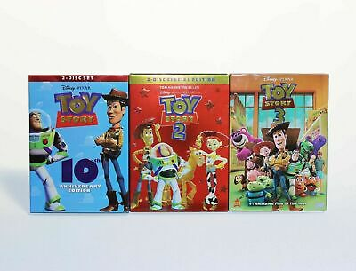 Toy Story Trilogy DVD Complete Set 1 2 3 BRAND NEW SHIPS FAST BRAND NEW
