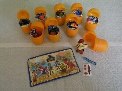 """Kinder """" Monstres et Pirates """" collection COMPLETE - NEUF"""