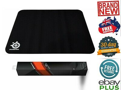 SteelSeries QcK Gaming Mouse Pad Rubber Base Non Slip 32x27cm (63004) NEW