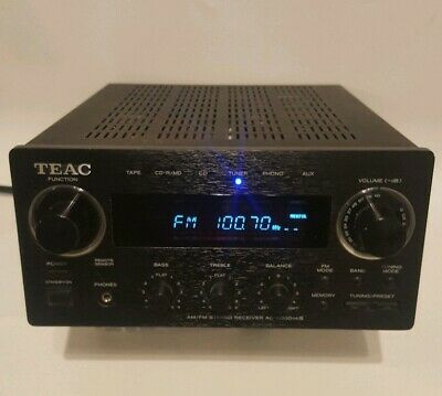 TEAC AG-H300 mkIII Stereo Receiver Amplifier Brushed Aluminium black Gold Imputs