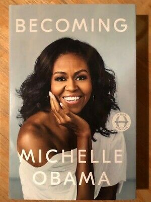 "Autographed Michelle Obama ""Becoming"" Book"