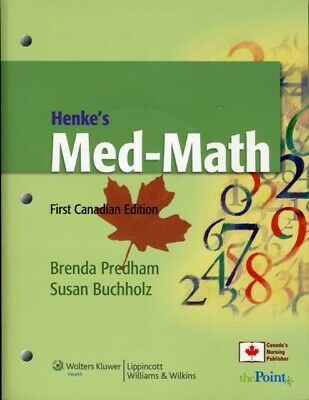Henkes Med Math First Canadian Edition